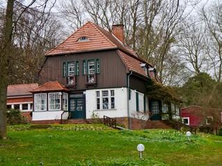 Gerhart Hauptmann Haus auf Hiddensee