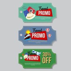travel promo coupon
