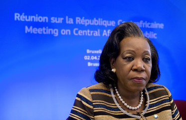 Central African Republic President Catherine Samba-Panza attends an European Union-Africa summit in Brussels