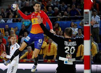 Men's Handball - Spain v Macedonia - 2017 Men's World Championship Main Round - Group B