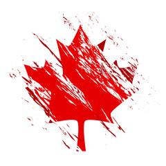 grande Canada maples leaf