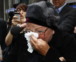 Former Labour Member of Parliament, Margaret Moran, leaves Westminster Magistrates Court in central London