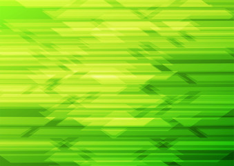 Green squares shapes abstract vector background