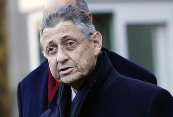 New York Assembly Speaker Sheldon Silver leaves federal court in New York
