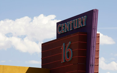 The Century 16 movie theater where 12 were killed and dozens injured on July 20, 2012 is pictured in Aurora