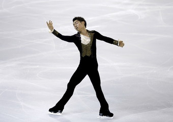 Murakami of Japan performs during the men's free program at the ISU Grand Prix of Figure Skating final in Barcelona