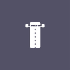simple road icon