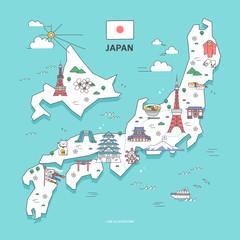 japan Travel Landmark Collection