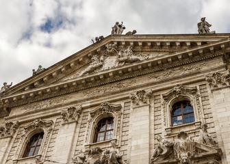 Landgericht München Gerichtsgebäude Justizpalast  Bayerisches Staatsministerium der Justiz hochauflösend HD 4k