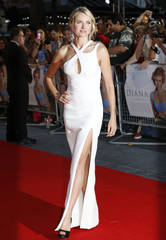 """Naomi Watts arrives for the world premiere of """"Diana"""" at Leicester Square in London"""