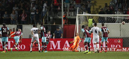 FC Astra Giurgiu v West Ham United - UEFA Europa League Qualifying Play-Off First Leg