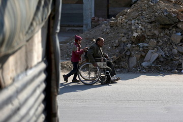 A Picture and its Story: Begging for help in Damascus