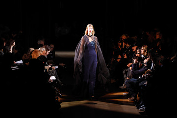 A model presents a creation by Italian designer Riccardo Tisci for French fashion house Givenchy as part of their Haute Couture Spring Summer 2010 fashion show in Paris