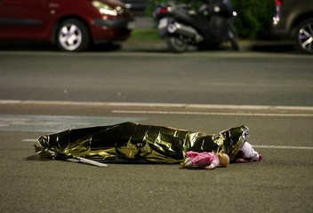 A Picture and Its Story: In the aftermath of the Bastille Day attack
