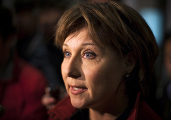 B.C Premier Christy Clark speaks to media after she held an emergency cabinet meeting with ministers in Vancouver