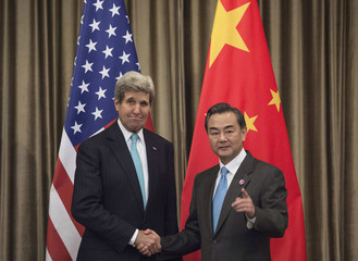 U.S. Secretary of State Kerry and Chinese Foreign Minister Wang meet on the sidelines of the Asia-Pacific Economic Cooperation (APEC) meeting in Beijing