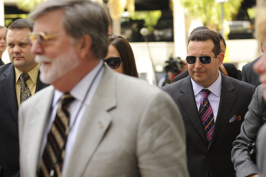 Defense Attorney Baez leaves after 1st degree murder trial of Casey Anthony was given to the jury at the Orange County Courthouse in Orlando
