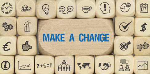 Make a Change / Würfel mit Symbole