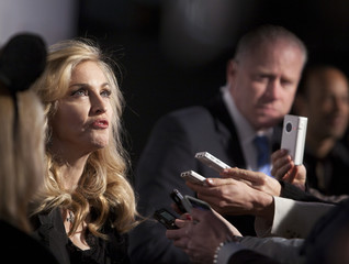 """Madonna arrives at the launch of her new fragrance, """"Truth or Dare by Madonna"""" at Macy's in New York"""
