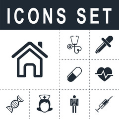 icon home outline