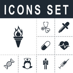 icon torch
