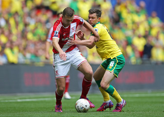 Norwich City v Middlesbrough - Sky Bet Football League Championship Play-Off Final