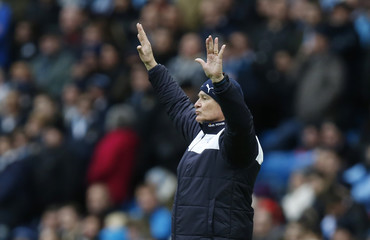 Manchester City v Leicester City - Barclays Premier League