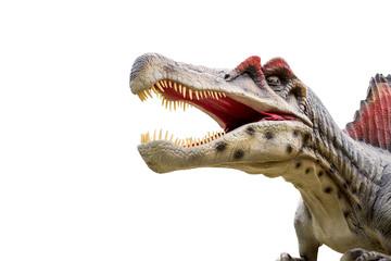 Foto op Aluminium Draw Dinosaur spinosaurus and monster model