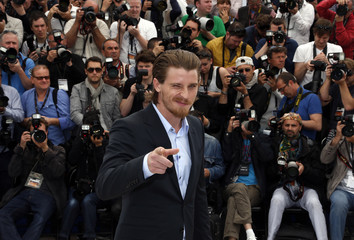 Cast member Garrett Hedlund poses during a photocall for the film 'Inside Llewyn Davis' at the 66th Cannes Film Festival