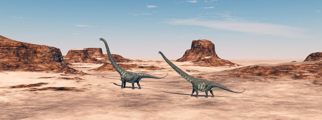 Dinosaurier Mamenchisaurus