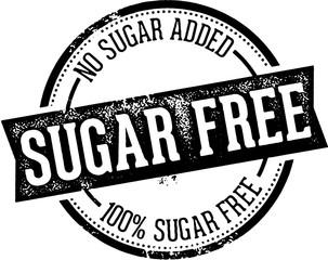 Sugar Free Food Product Label