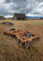 Mormon Row Historic in Grand Teton