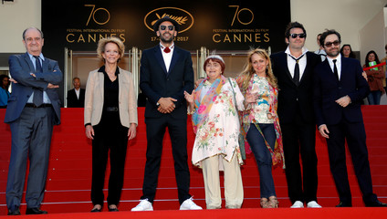 70th Cannes Film Festival - Screening of the film Visages, villages (Faces Places) out of competition - Red Carpet Arrivals