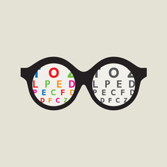 Color Blindness Concept Vector Illustration