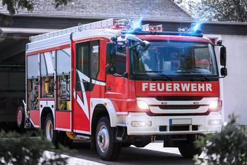 german firefighter truck