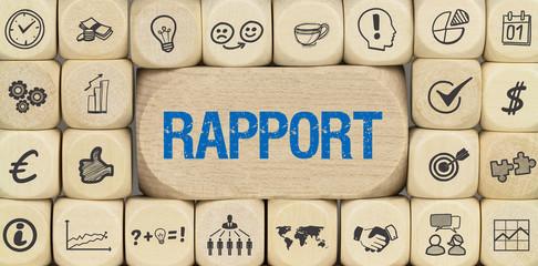 Rapport / Würfel mit Symbole