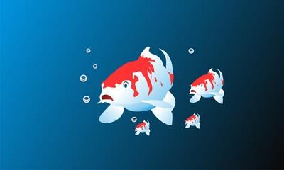 fish logo vector symbol