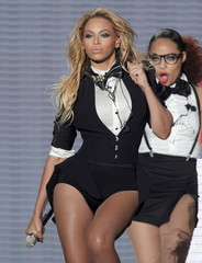 "File photo of Singer Beyonce during the taping of ""Oprah's Surprise Spectacular"" in Chicago"