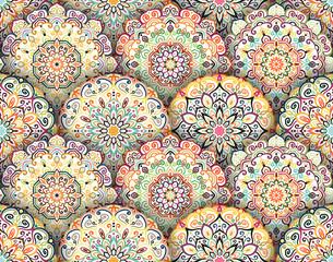 Mandala Pattern with Shadows