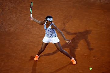 Tennis - ATP - Rome Open - Garbine Muguruza of Spain v Venus Williams of the United States