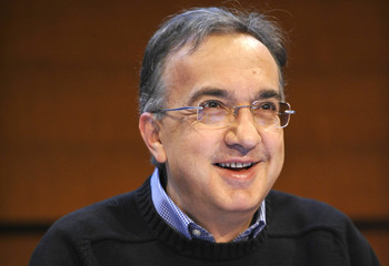 Sergio Marchionne, Chief Executive Officer of Fiat SpA and Chrysler LLC, smiles during the Fiat Group's annual shareholder meeting in Turin