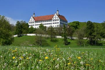 Foto auf Acrylglas Schloss Schloss Mochental