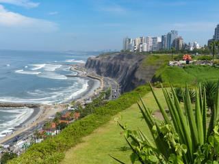 Coastline Lima Peru