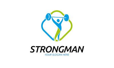 Strang Man Logo