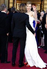 """Australian actress, Kidman, best actress nominee for her role in """"Rabbit Hole"""", and her husband, Keith Urban arrive at the 83rd Academy Awards in Hollywood California"""