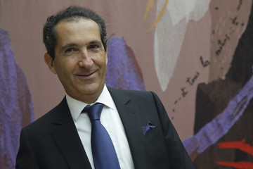 Patrick Drahi, Franco-Israeli businessman, Executive Chairman of cable and mobile telecoms company Altice and founder of Numericable attends a hearing at the French National Assembly in Pari