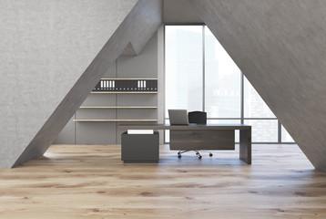 Triangular CEO office
