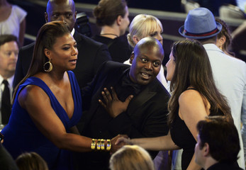 Queen Latifah mingles in the audience during the 5th Annual Critics' Choice Television Awards in Beverly Hills