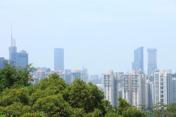 Keuken foto achterwand Chicago Skyline of Shenzhen, China