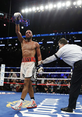 James DeGale after the fight